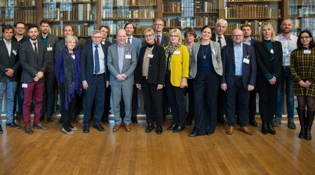 The EUF Council of Rectors meeting took place in Ghent.