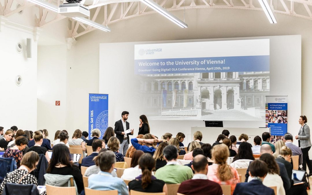 Vienna conference: Erasmus keeps going digital!