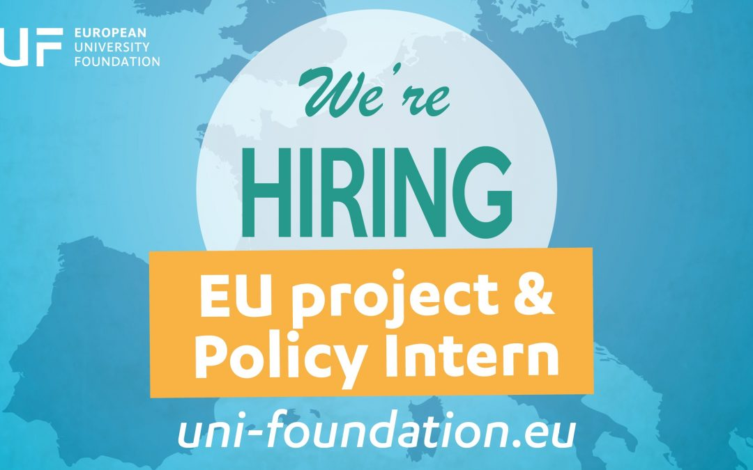 Traineeship in EU Projects & Policy: apply now!