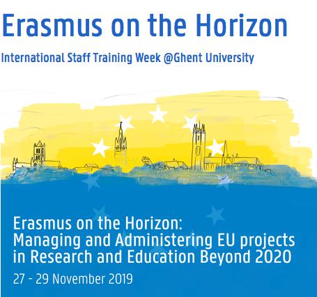 Staff Training week at Ghent University