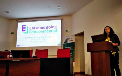 The 1st Erasmus Going Entrepreneurial event took place in Greece