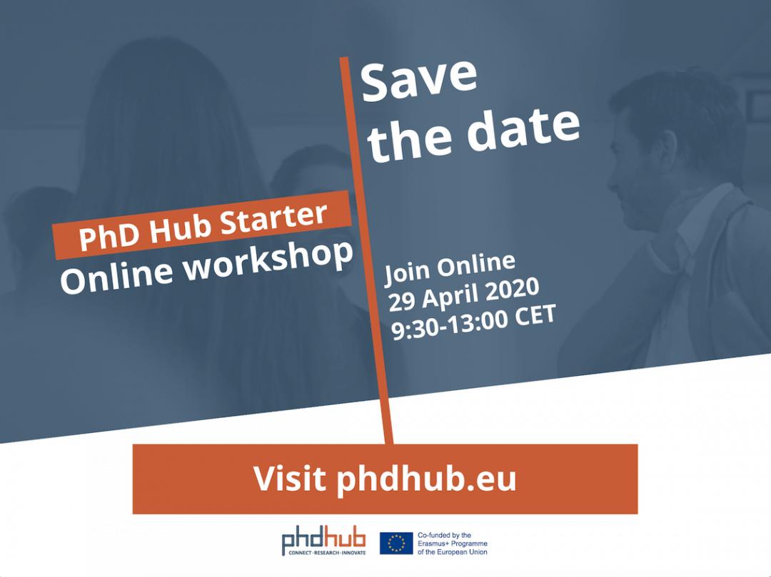 PhD Hub Starter – Online Workshop