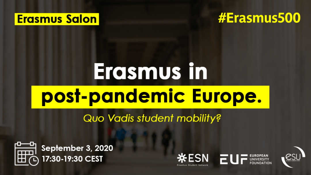 Erasmus Salon: Erasmus in post-pandemic Europe