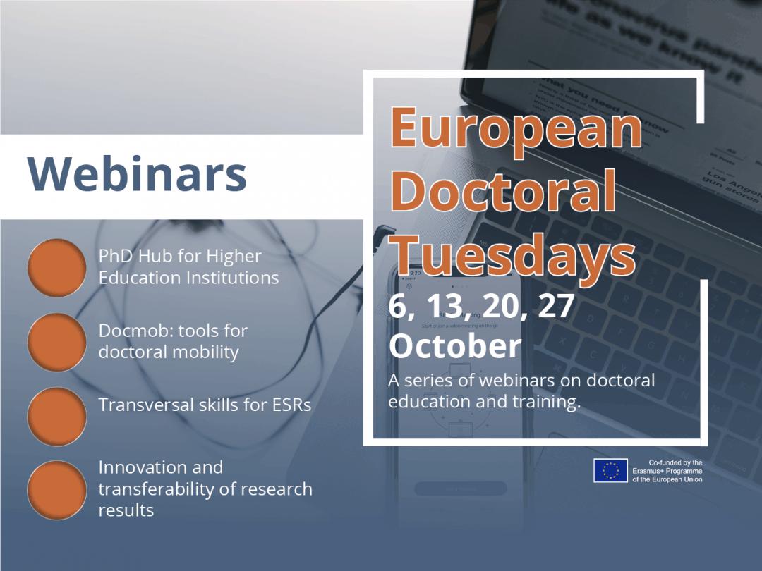 European Doctoral Tuesdays I Series of Webinars