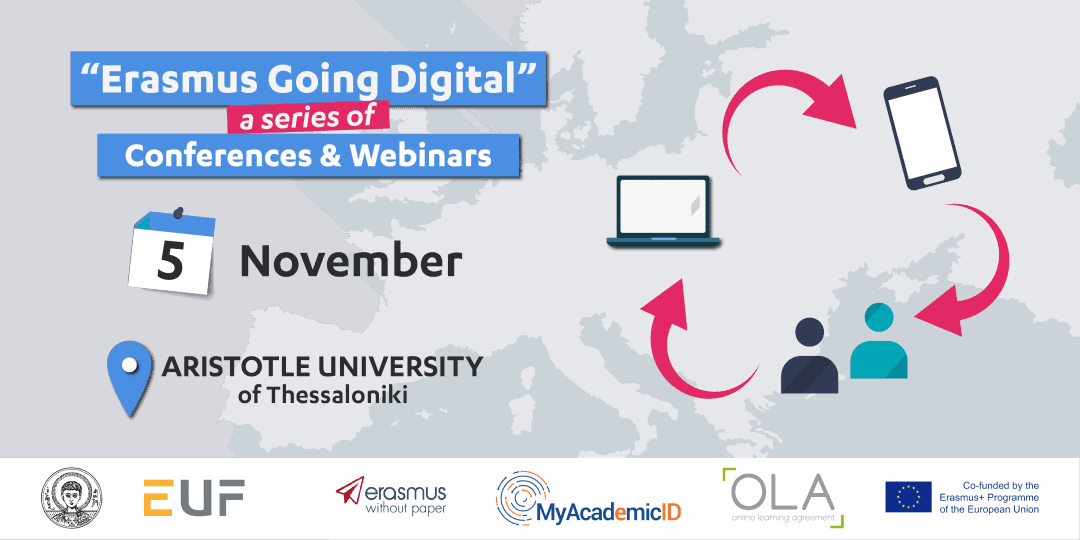 Erasmus Goes Digital Thessaloniki: Discover the updated OLA!