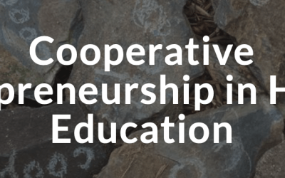 Conference: Cooperative Entrepreneurship in Higher Education