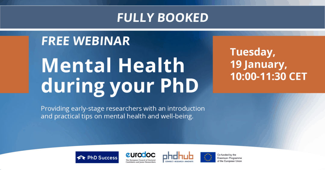 Mental Health during your PhD I Webinar
