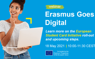 New Erasmus Goes Digital webinar series starts on 29 April