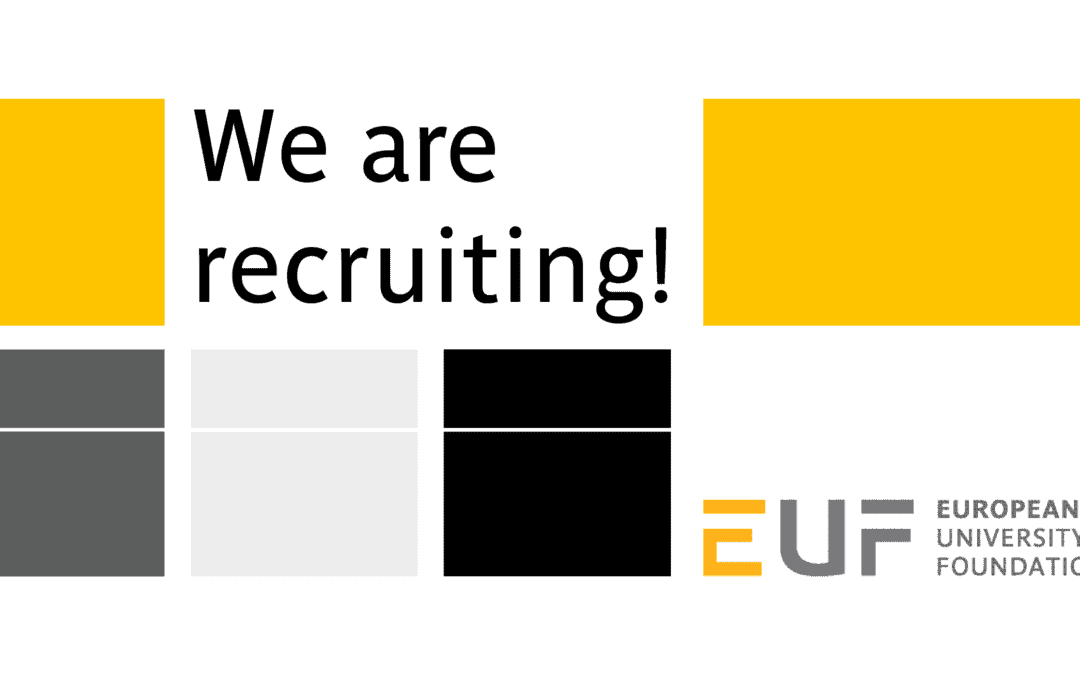 The EUF is currently hiring