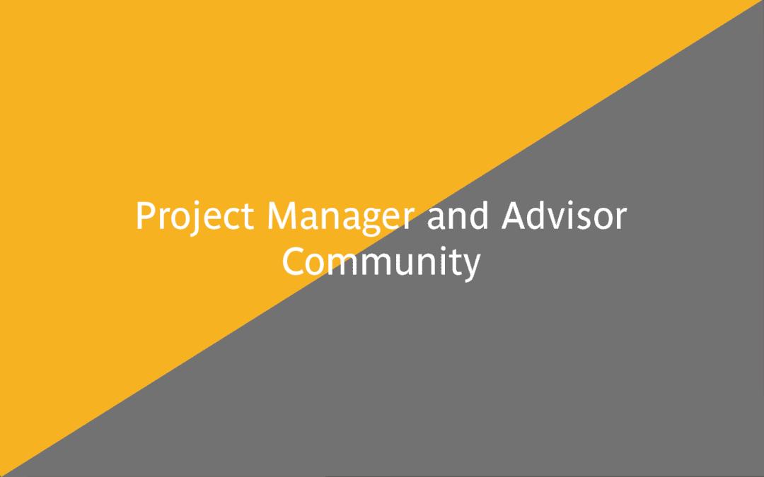EUF Erasmus+ Project Manager and Advisor Community 2021/2022