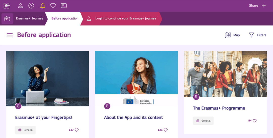 New Erasmus+ App launched